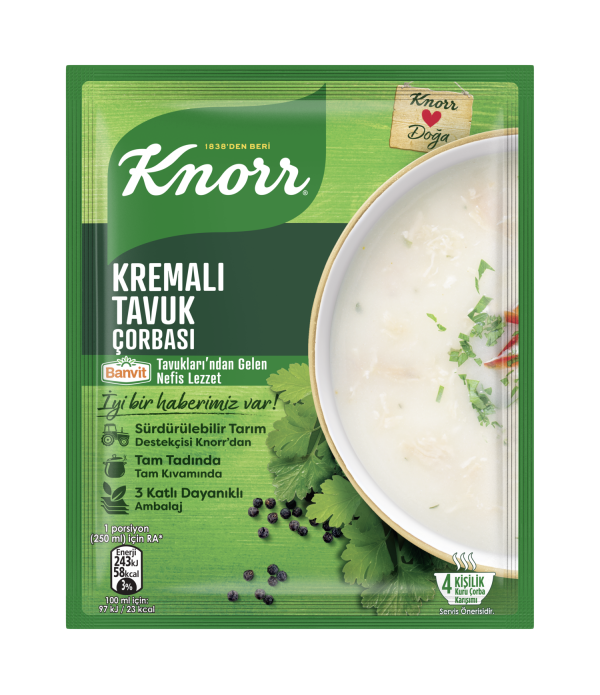 Knorr Kremalı Tavuk Çorbası 65 Gr