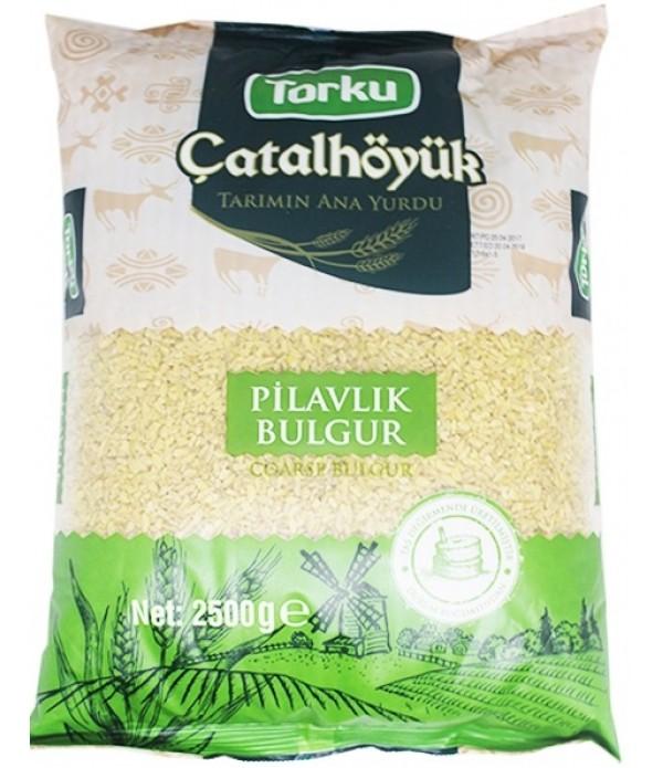 Torku Çatalhöyük Pilavlık Bulgur 2.5 Kg