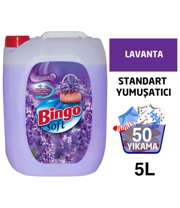 Bingo Soft Sensitive Lavanta 5 Lt