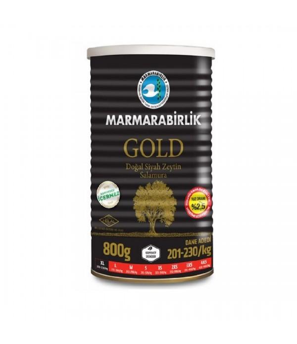 Marmarabirlik (Xl) 201-230 Gold Doğal Az Tuzlu Sa...