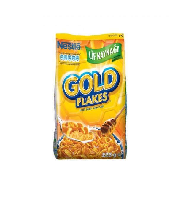 Nestle Gold Flakes Ballı Mısır Gevreği 225 G