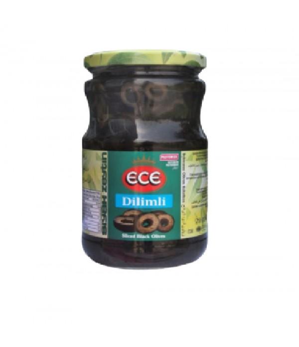 Ece Dilimli Siyah Zeytin 720 Cc