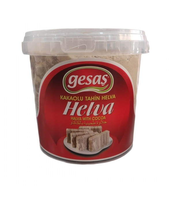 Gesaş Helva Kakaolu 1400 Gr