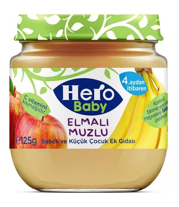 Hero Baby Elmalı Muzlu Mama 125 G