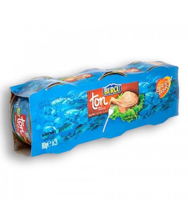Burcu Ton Balığı 80 Gr X 3