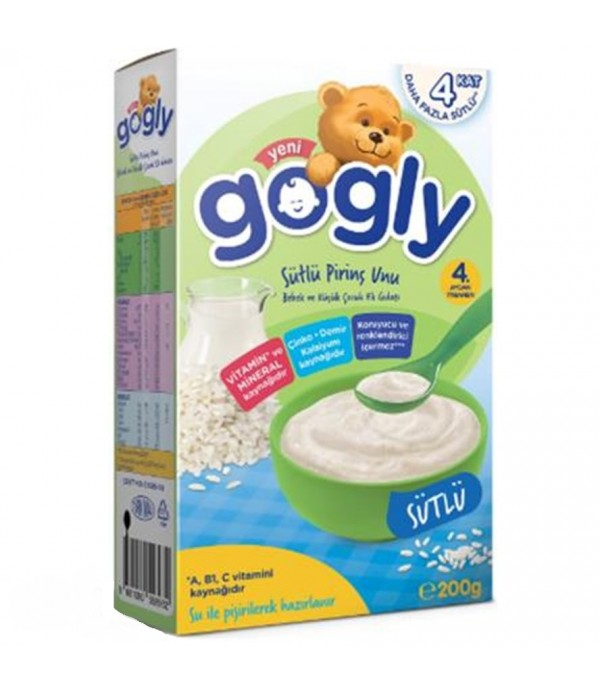 Gogly Pirinç Unu Sütlü 200 Gr