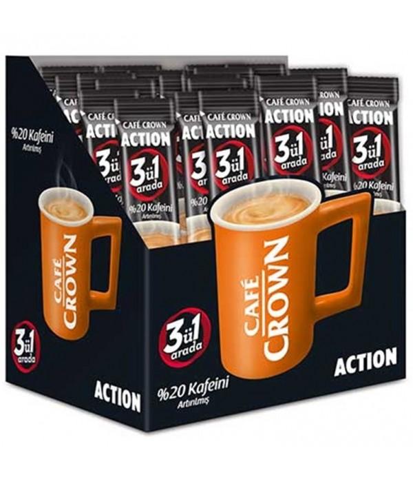 Cafe Crown 3 Ü Bir Arada Action 24 Lü Paket