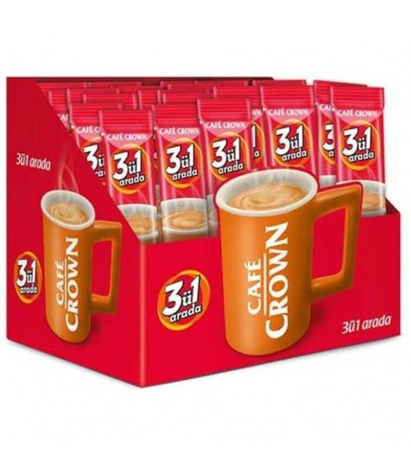 Cafe Crown 3ü1 Sade 24`lü