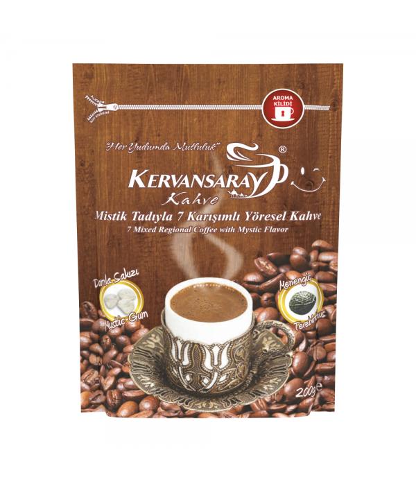 Kervansaray Kahve 7 Karışımlı Damla Sakızlı ...