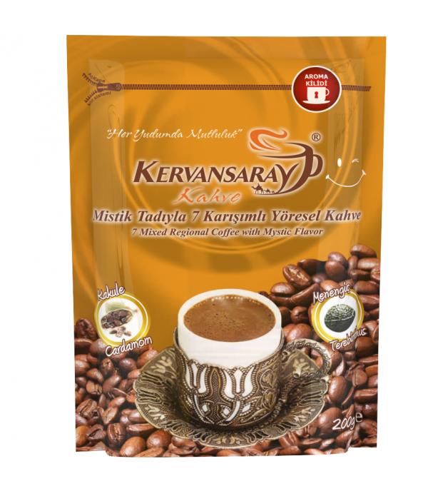 Kervansaray Kahve 7 Karışımlı Kakuleli  200 Gr