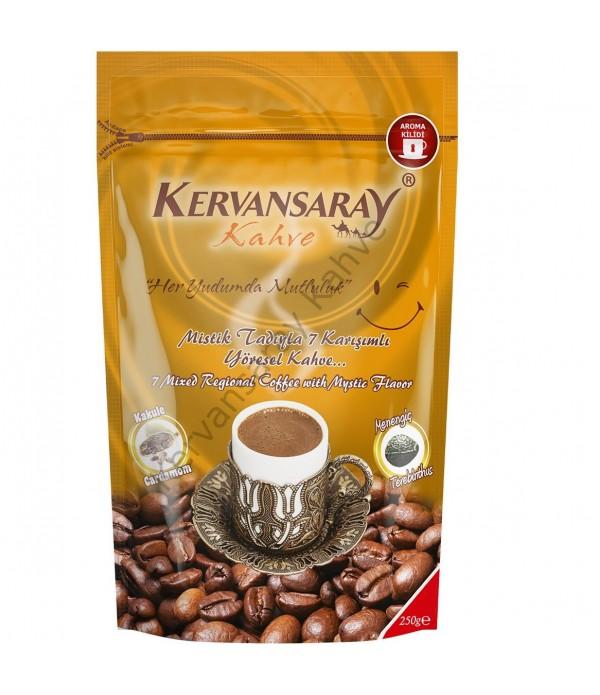 Kervansaray Kahve 7 Karışımlı Kakuleli  250 Gr