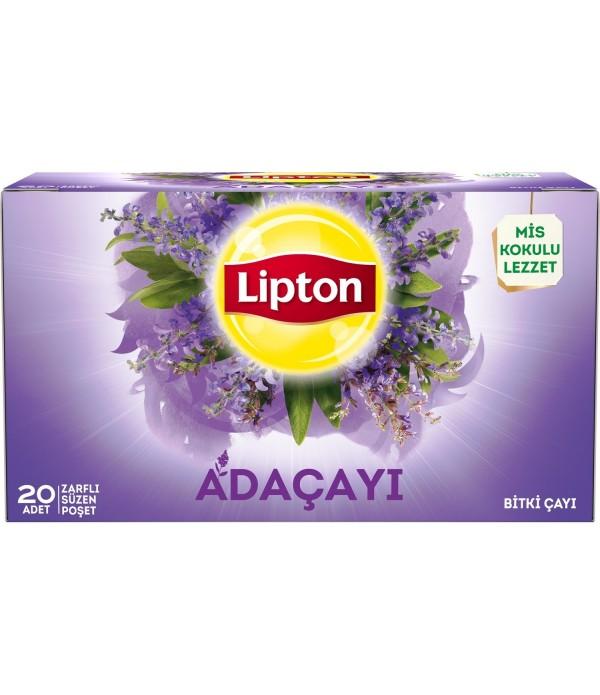 Lipton Bardak Poşet Bitki Çayı Adaçayı 20`Li