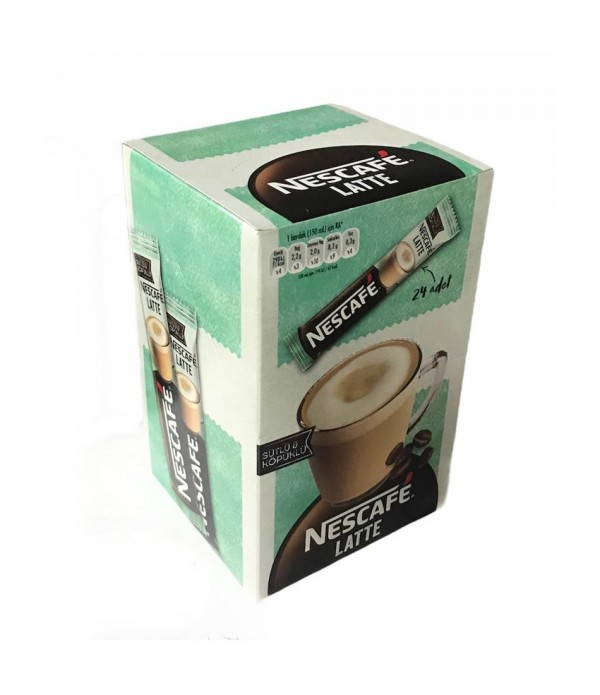 Nescafe Crema Latte Hazır Kahve 24 Adet