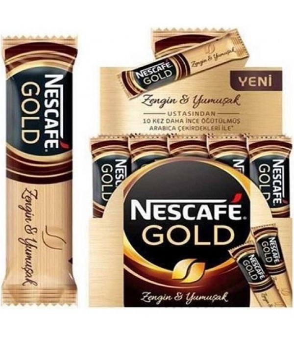 Nescafe Gold 48 gr 24' lü