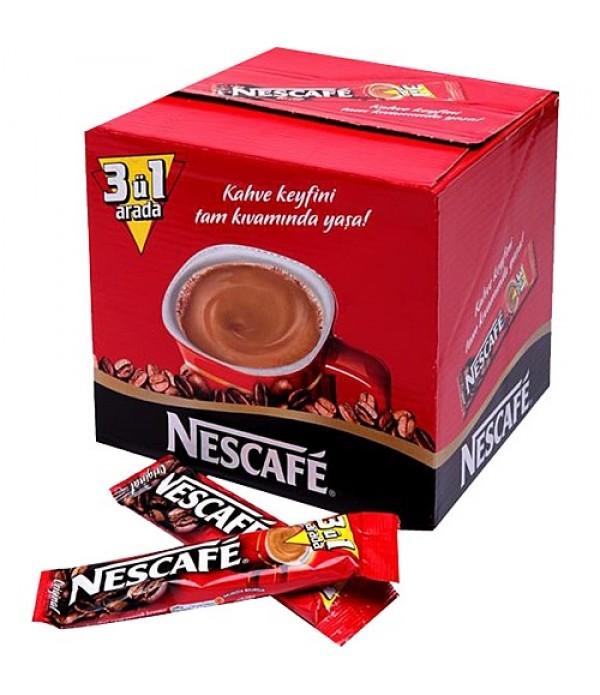 Nescafe Original 3`ü 1 Arada 48`li Hazır Kahve