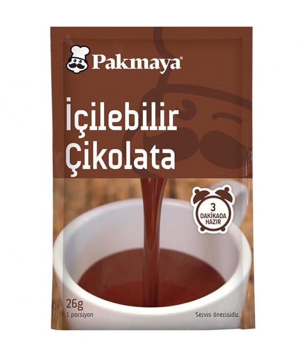 Pakmaya İçilebilir Çikolata 26 Gr