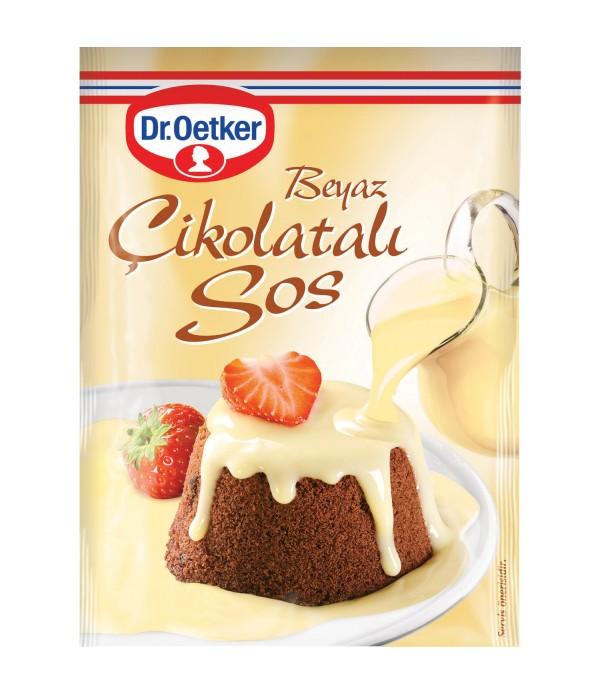 Dr Oetker Tatlı Sos Beyaz Çikolatalı 80 gr
