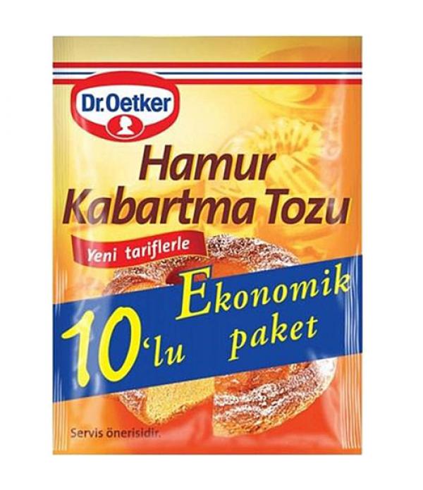 Dr.Oetker 10'lu Hamur Kabartma Tozu