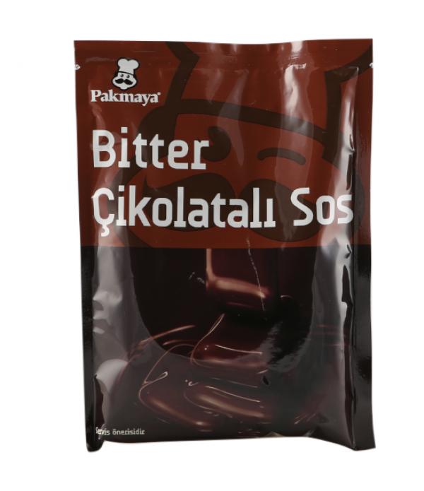 Pakmaya Çikolatalı Sos Bitter 122 Gr