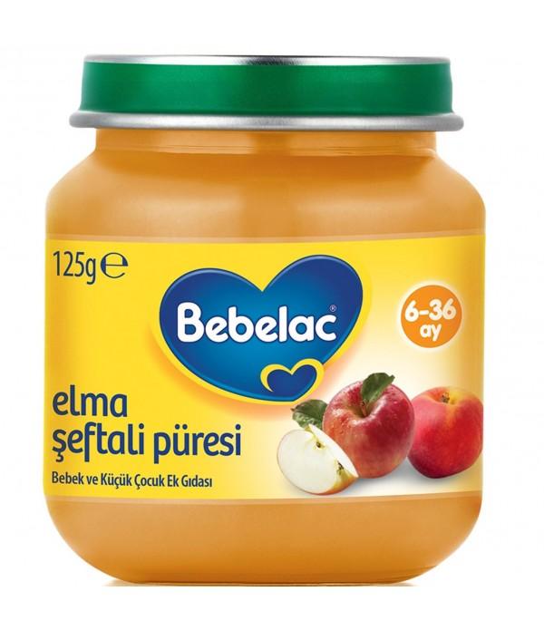 Bebelac Elma Şeftali 125 Gr