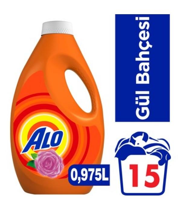 Alo 15 Yıkama Sıvı Çamaşır Deterjanı Gül B...
