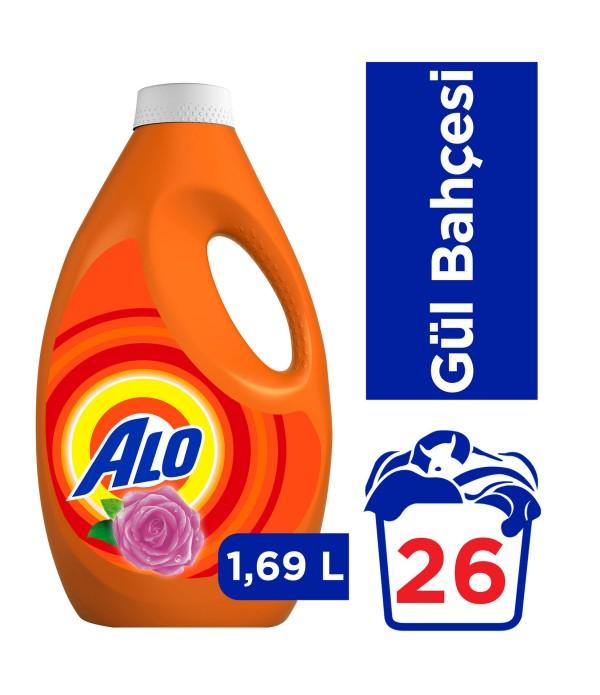 Alo 26 Yıkama Sıvı Çamaşır Deterjanı Gül B...