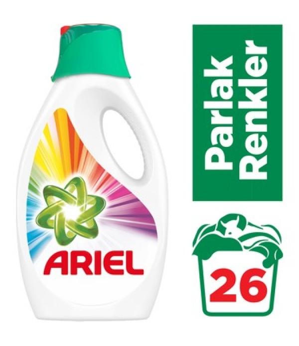 Ariel 26 Yıkama Sıvı Çamaşır Deterjanı Parl...