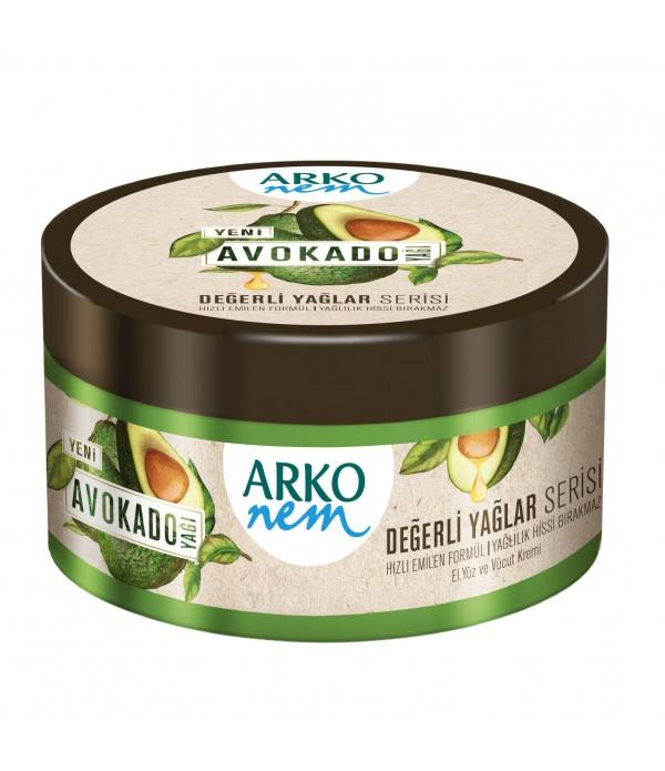 Arko Nem Değerli Yağlar Avokado Yağlı Krem 250...