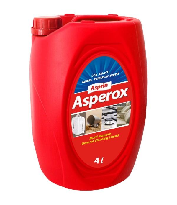 Asperox Asprin Çok Amaçlı Genel Temizleyici 4 L...
