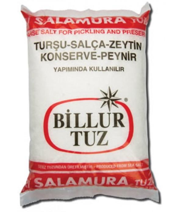 Billur Tuz İri Salamura 3 kg