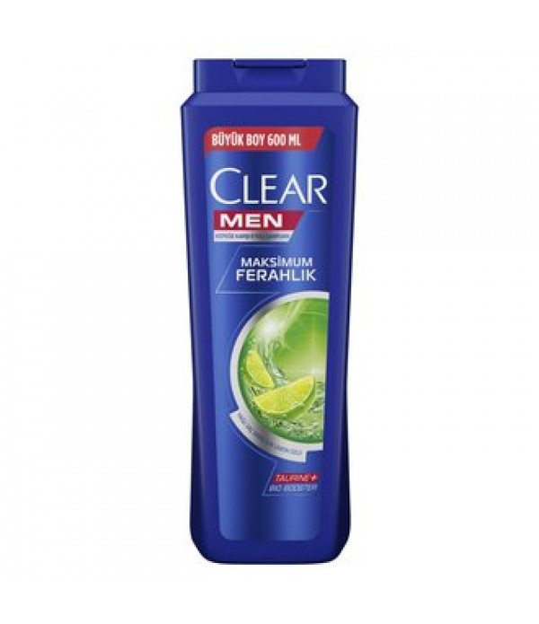 Clear Men Maksimum Ferahlık Şampuan 600 ml