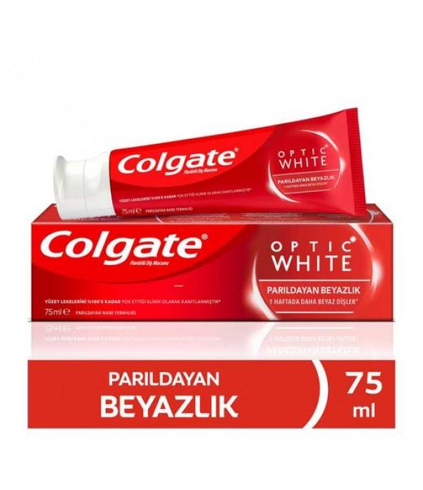 Colgate Optik Beyaz Kalıcı Beyazlık Beyazlatıc...