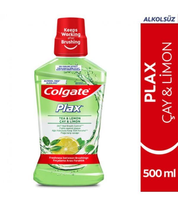 Colgate Plax Çay ve Limon 500 ml Gargara