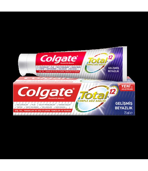 Colgate Total Gelişmiş Beyazlık 75 ml