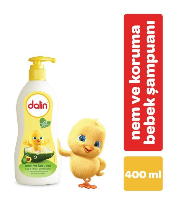 Dalin Nem Koruma Saç&Vücut Şampuanı 400 ml
