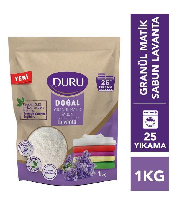 Duru Doğal Granül Matik Sabun Lavanta 1 kg 25 Y�...