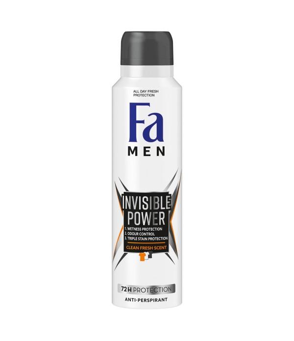 Fa Deodorant Xtreme Invisible Power Erkek 150 ml