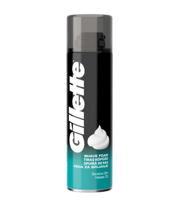 Gillette Hassas Tıraş Köpüğü 200 ml