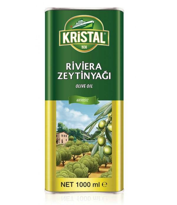 Kristal Riviera Zeytinyağı 1 Lt