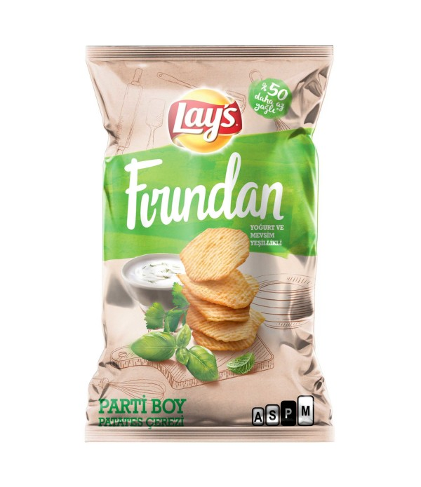 Lays Fırından Patates Cipsi Parti Boy 134 gr