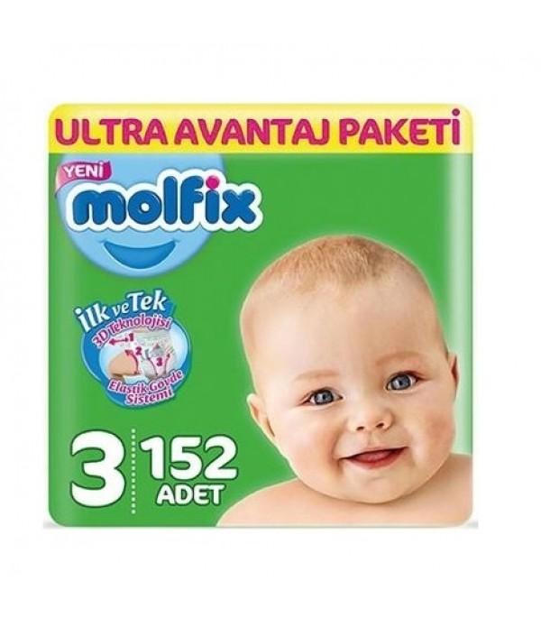 Molfix Bebek Bezi 3 Beden 152 4 - 9 kg