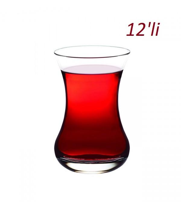 Paşabahçe İnce Belli Çay Bardak 12 Li