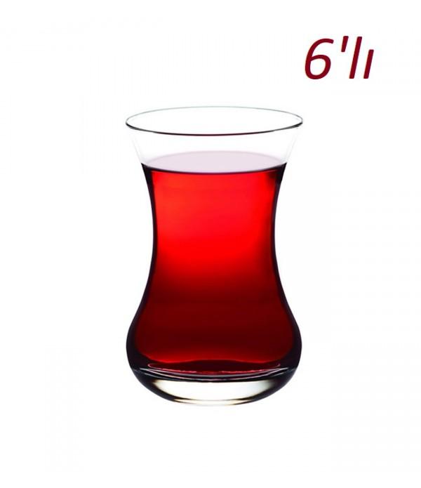 Paşabahçe İnce Belli Çay Bardak 6 Lı