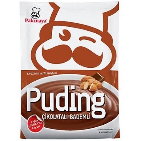 Pakmaya Çikolatalı Bademli Puding 115 Gr