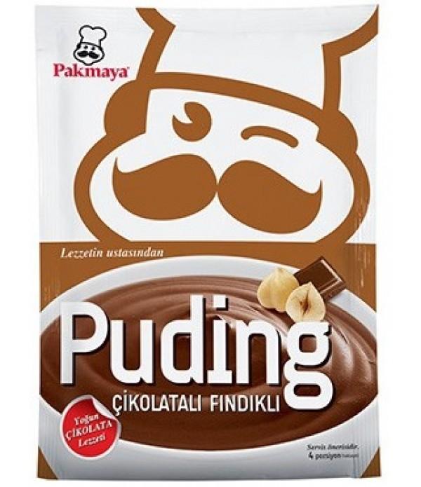 Pakmaya Çikolatalı Fındıklı Puding 115 Gr