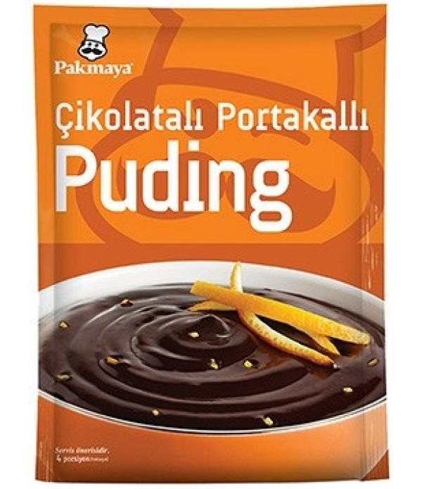 Pakmaya Çikolatalı Portakallı Puding 116 Gr