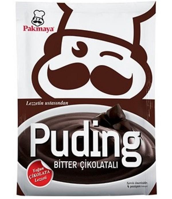 Pakmaya Bitter Çikolatalı Puding 115 Gr