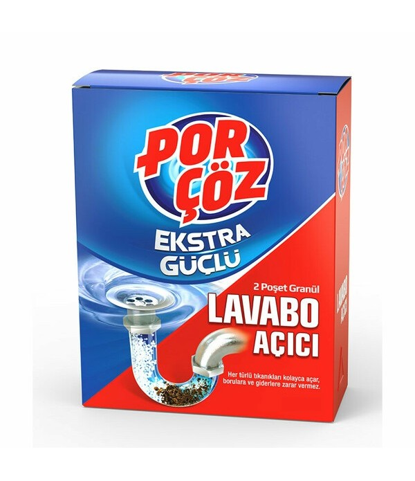 Porçöz Lavabo Açıcı 140 ml
