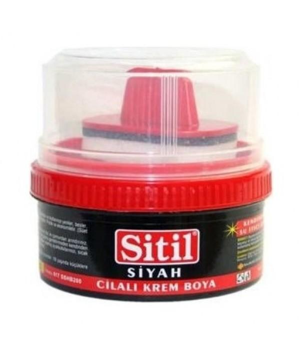 Sitil Ayakkabı Boyası Classic Krem Siyah 50 ml