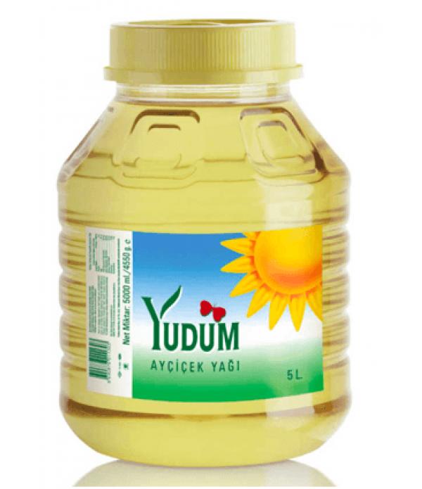 Yudum Ayçiçek Yağı 4.5 Lt